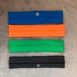 Set of Lululemon Headbands